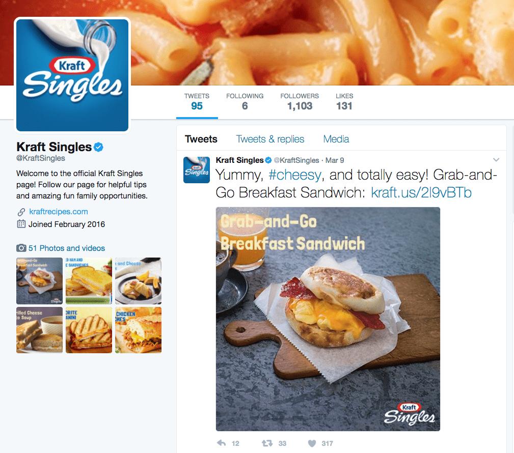 Kraft Social Media