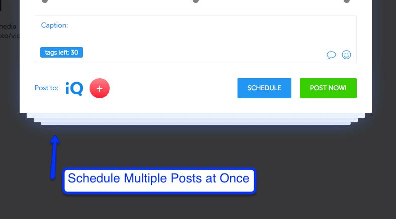 Bulk Instagram Scheduling