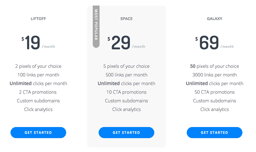 RocketLink Pricing