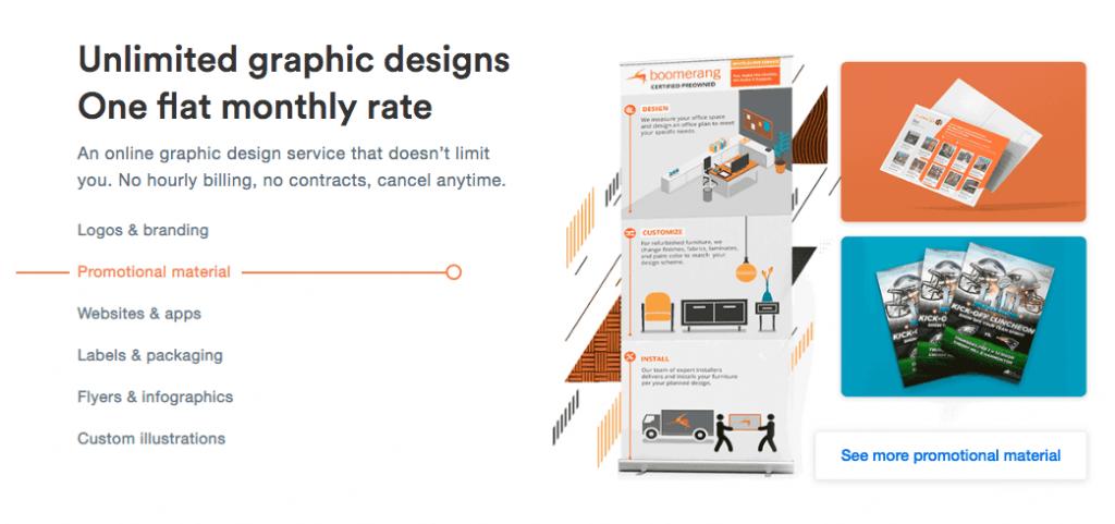 Unlimited Graphic Designs Promo