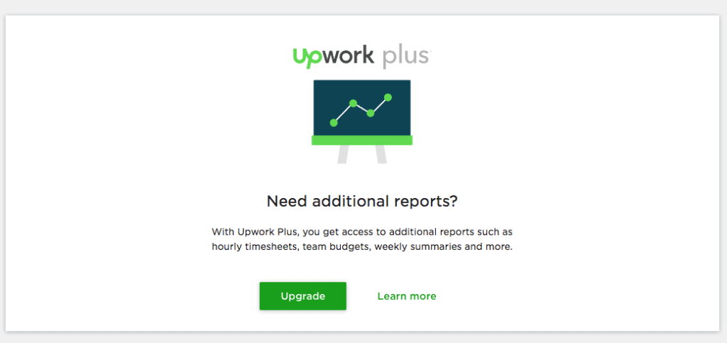 Upwork Weekly Summary