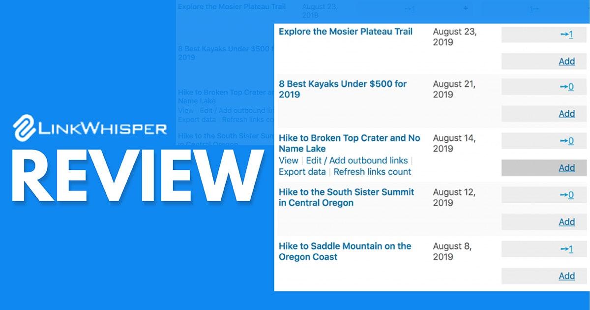 Link Whisper WordPress Plugin Review – Is It Worth It?