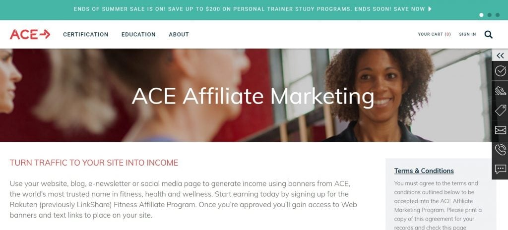 Ace Weight Loss Affiliate Program
