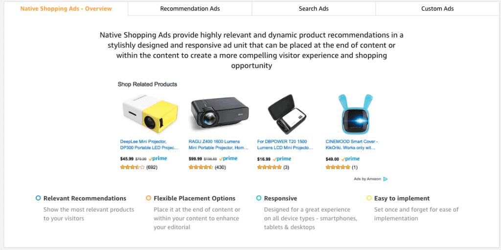 Amazon Affiliate Tools