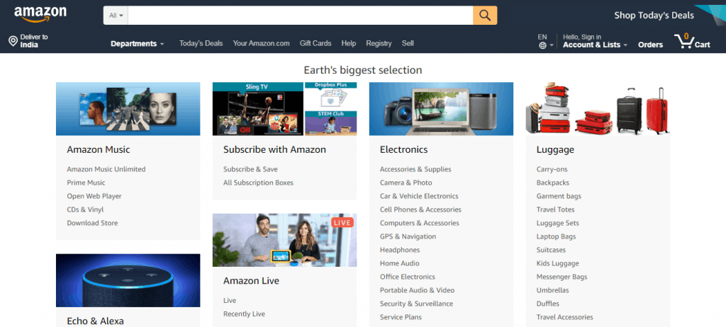 Amazon Network and Offer Type