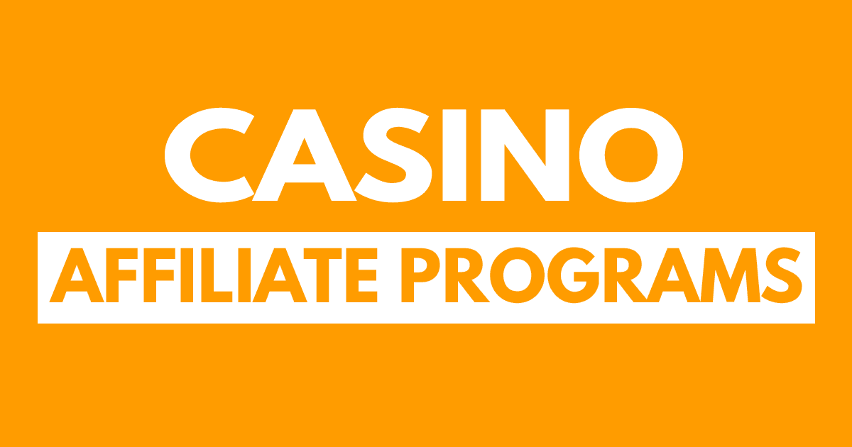 Highest Paying Casino Affiliate Programs
