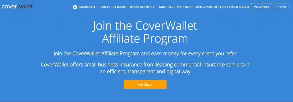 Coverwallet Affiliate Program
