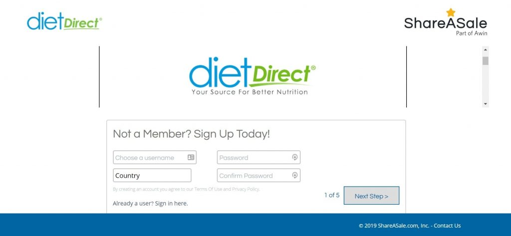 Diet Direct Affiliate Program