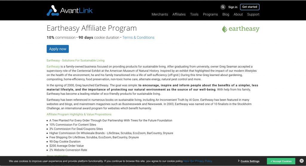 EarthEasy  Affiliate Program