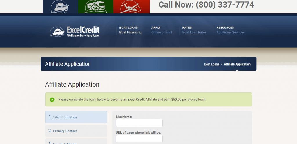 Excel Credit Affiliate Program