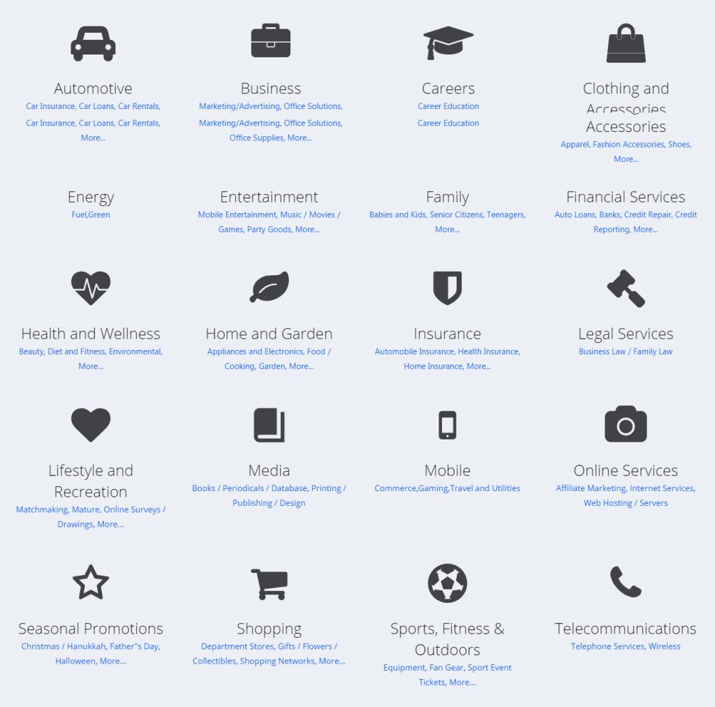 Flex Network-Offer Types