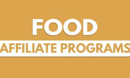 Top 10 Food Affiliate Programs