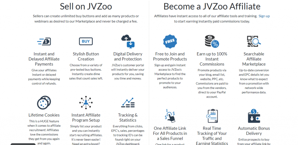 JVZoo Network and Offers