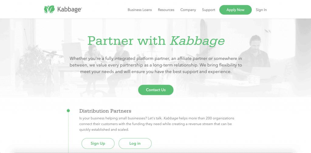 Kabbage Affiliate Programs