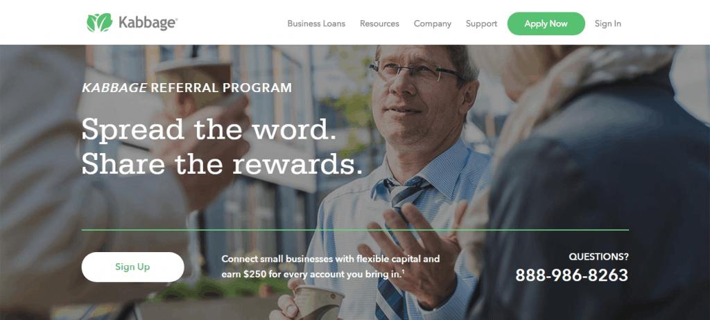 Kabbage Loan Affiliate Program
