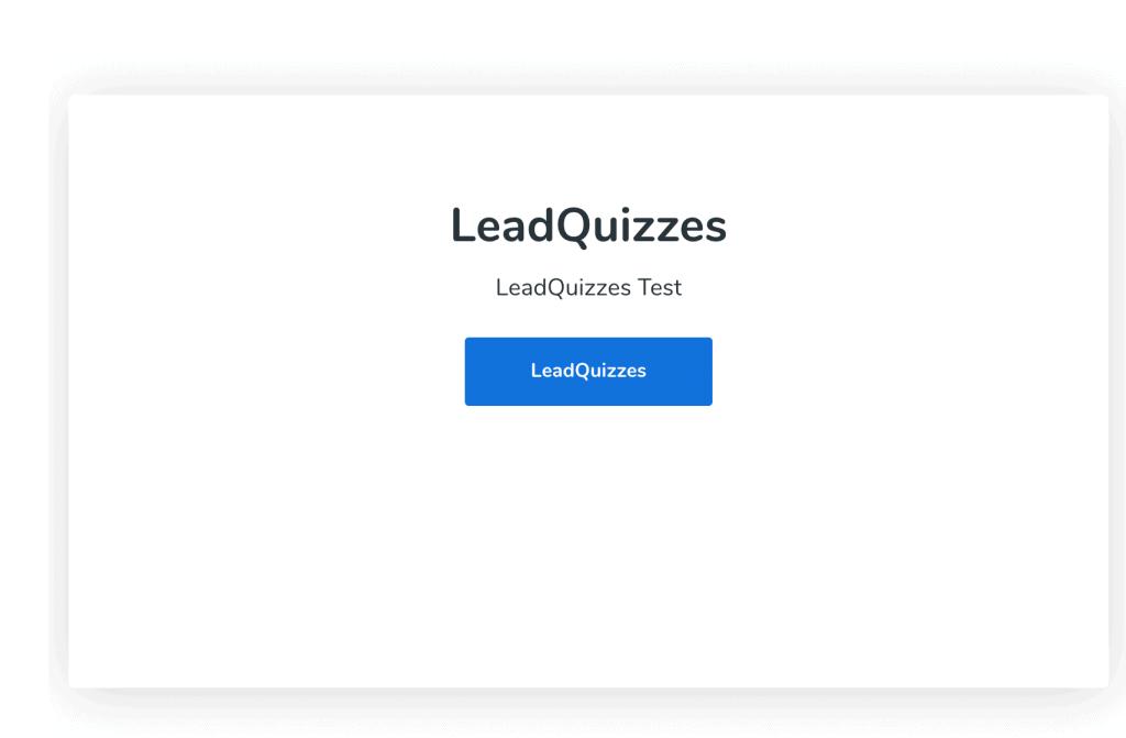 LeadQuizzes Test1