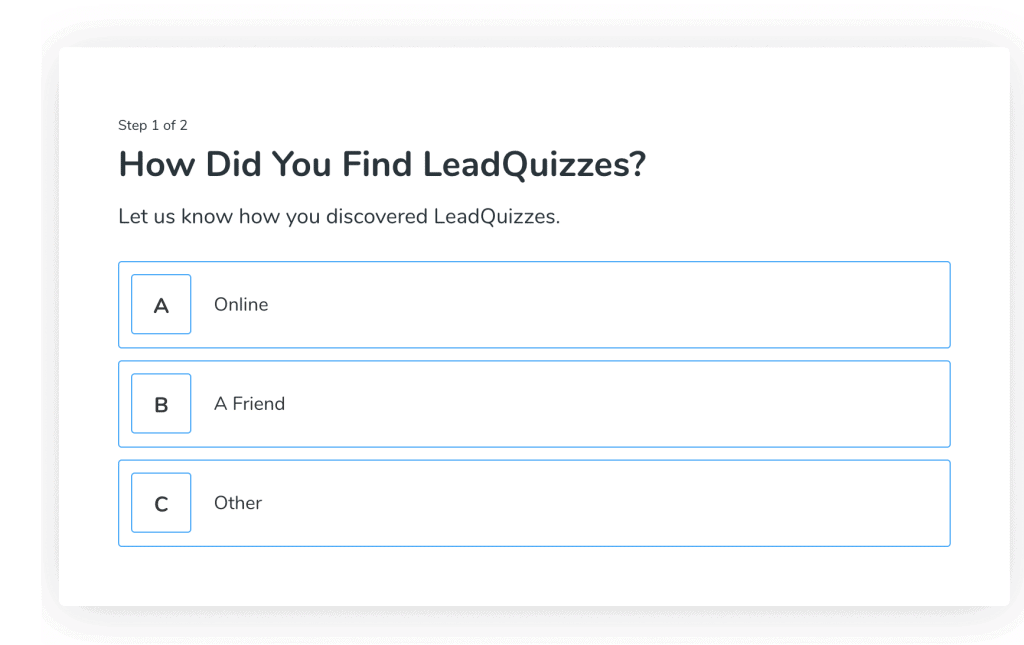 LeadQuizzes Test2