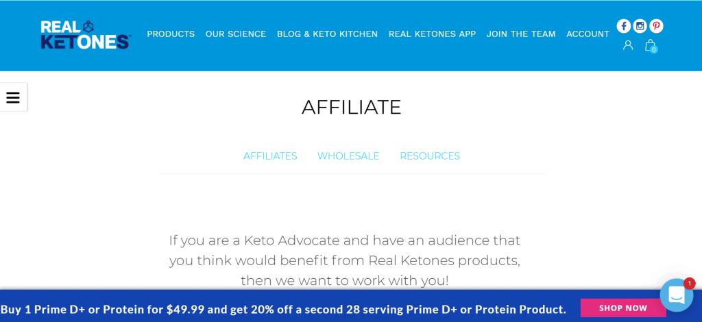 find ketogenic diet affiliate program