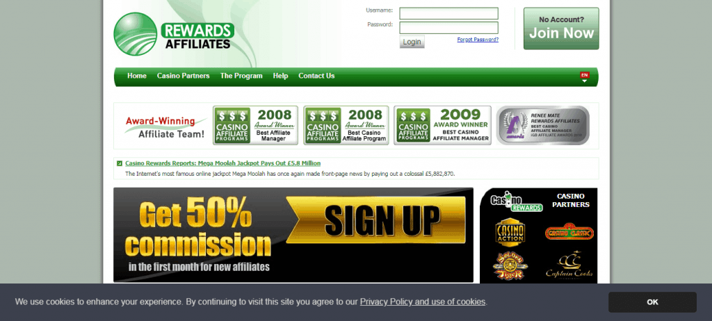 Casino Rewards Affiliates