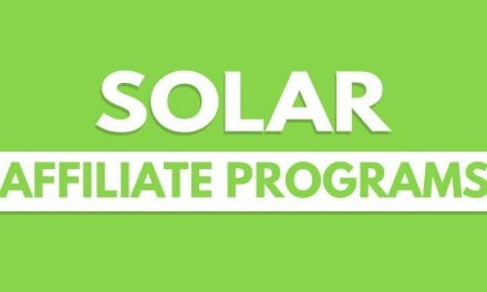Best Solar Affiliate Programs – 11 Top Choices For Earning