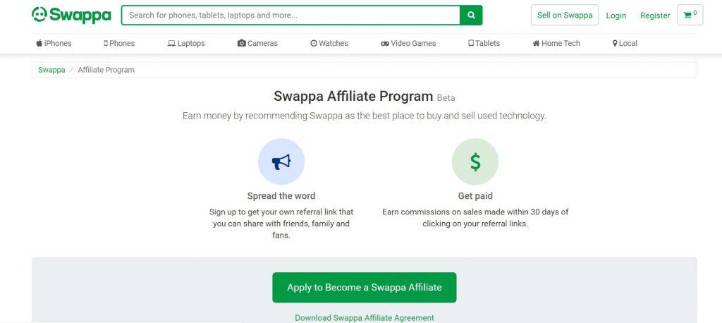 Swappa Affiliate Program