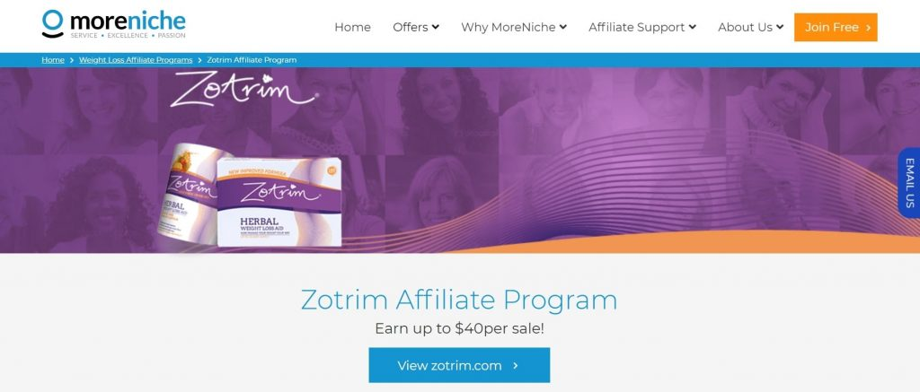 Zotrim Weight Loss Affiliate Program