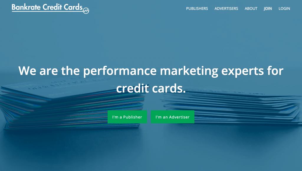 bankrate credit cards affiliate program