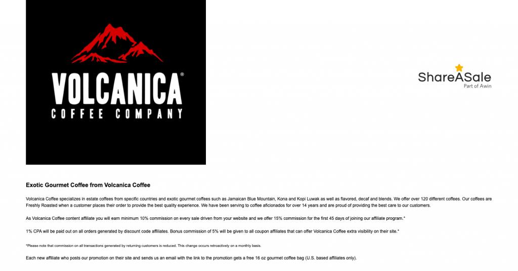 volcanica affiliate program