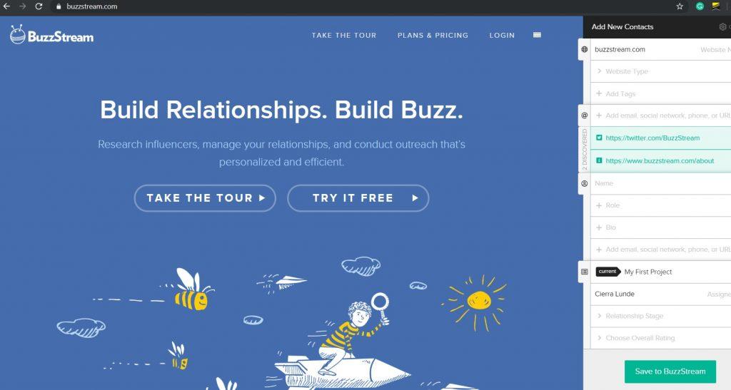 BuzzStream Buzzmarker