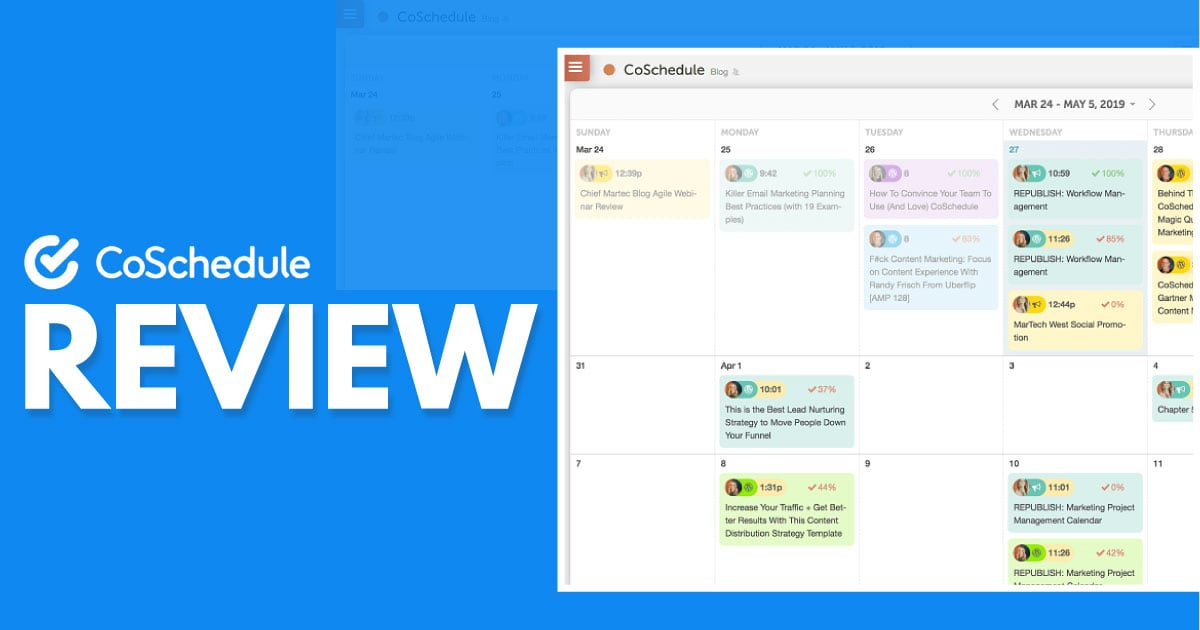 CoSchedule Review – A Thorough Look At This Scheduling App
