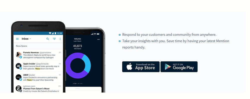 Mention Mobile App