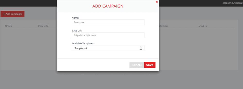 Picreel Create Campaign