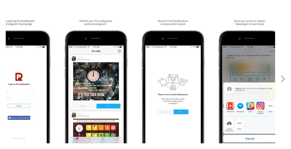 PromoRepublic Mobile App