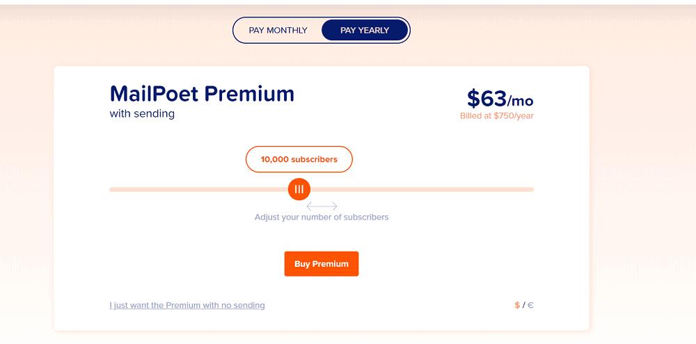 MailPoet Pricing