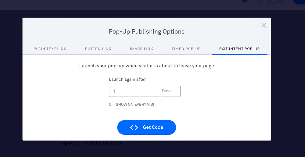 Leadpages Pop-Ups