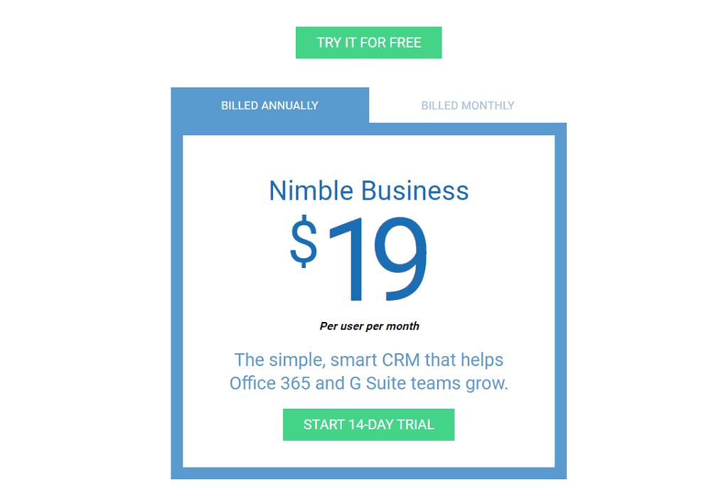 Nimble Pricing