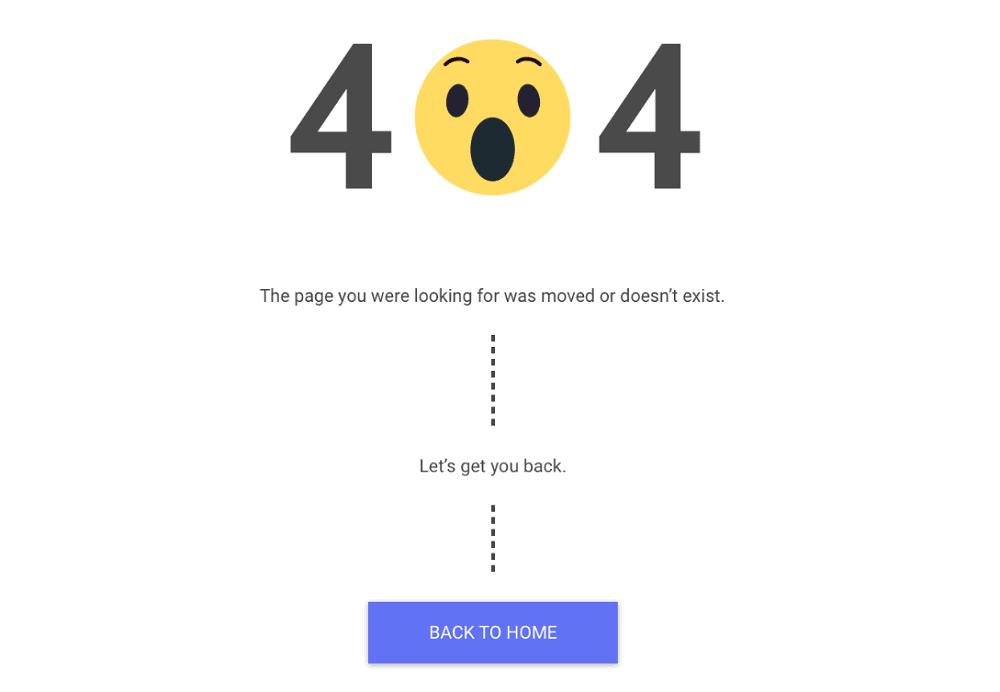 PixelMe Custom 404 Page