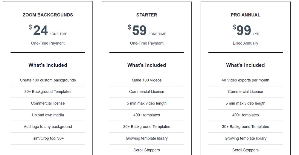 Reevio Pricing