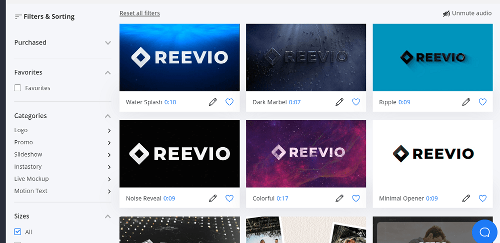 Reevio Template Library