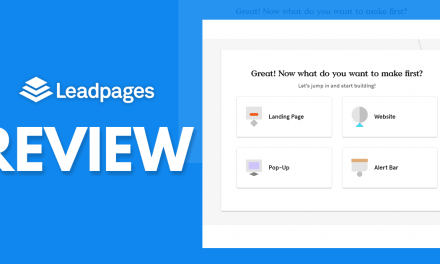 Leadpages Review – A No Experience Needed Landing Page Builder