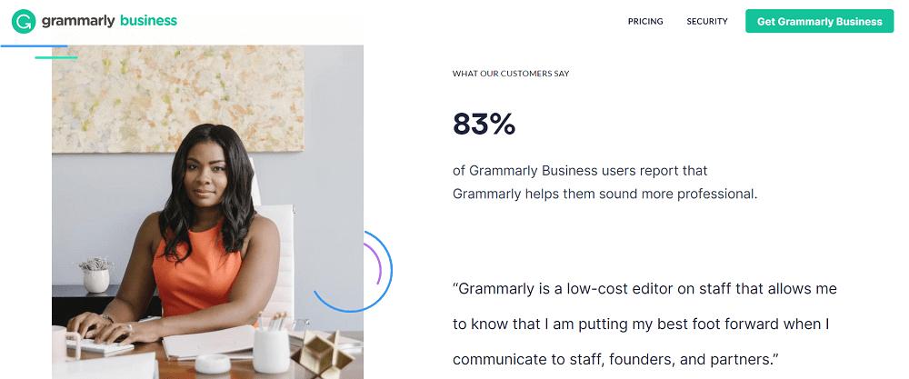 Grammarly Business