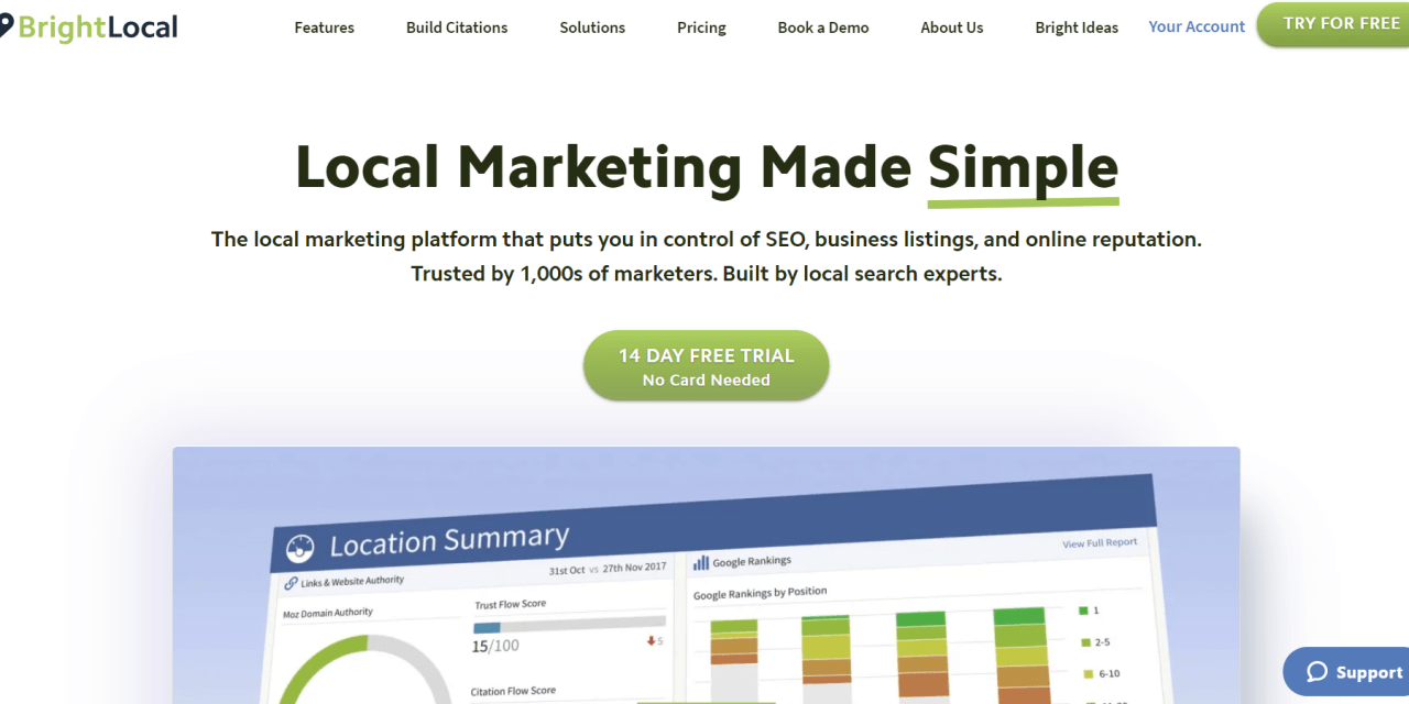 BrightLocal Review – Is This SEO And Local Citation Tool Right For You?