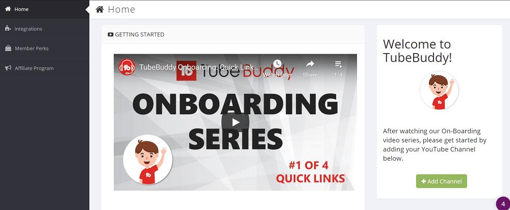 TubeBudding Getting Started