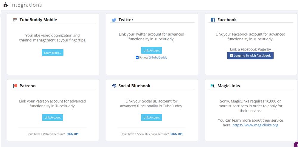 TubeBuddy Social