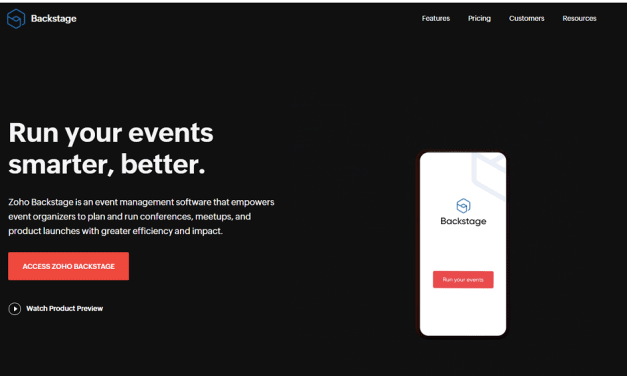 Zoho Backstage Review – Will It Help You Plan, Manage, And Optimize Your Events?